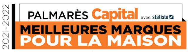 Palmares Capital meilleures marques pour la maison 2021-2022